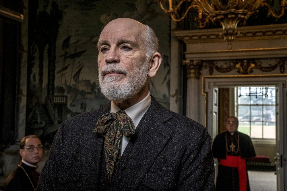 The New Pope (1)_John Malkovich_photo by Gianni Fiorito_@WildsideSky ItaliaHaut et Court TVHome Box Office, inc.Mediapro-1000