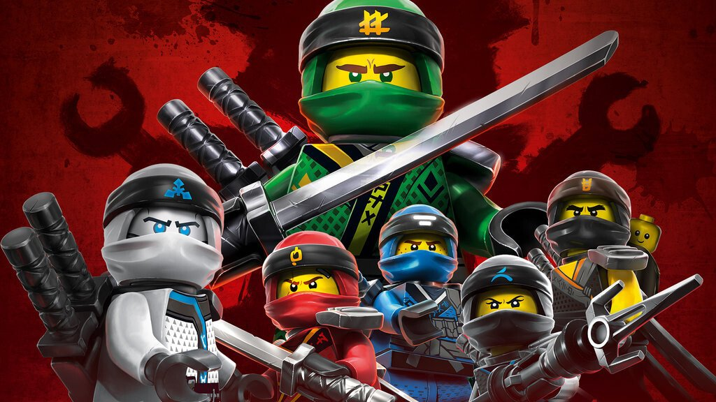 LEGO Ninjago Mistrzowie Spinjitzu