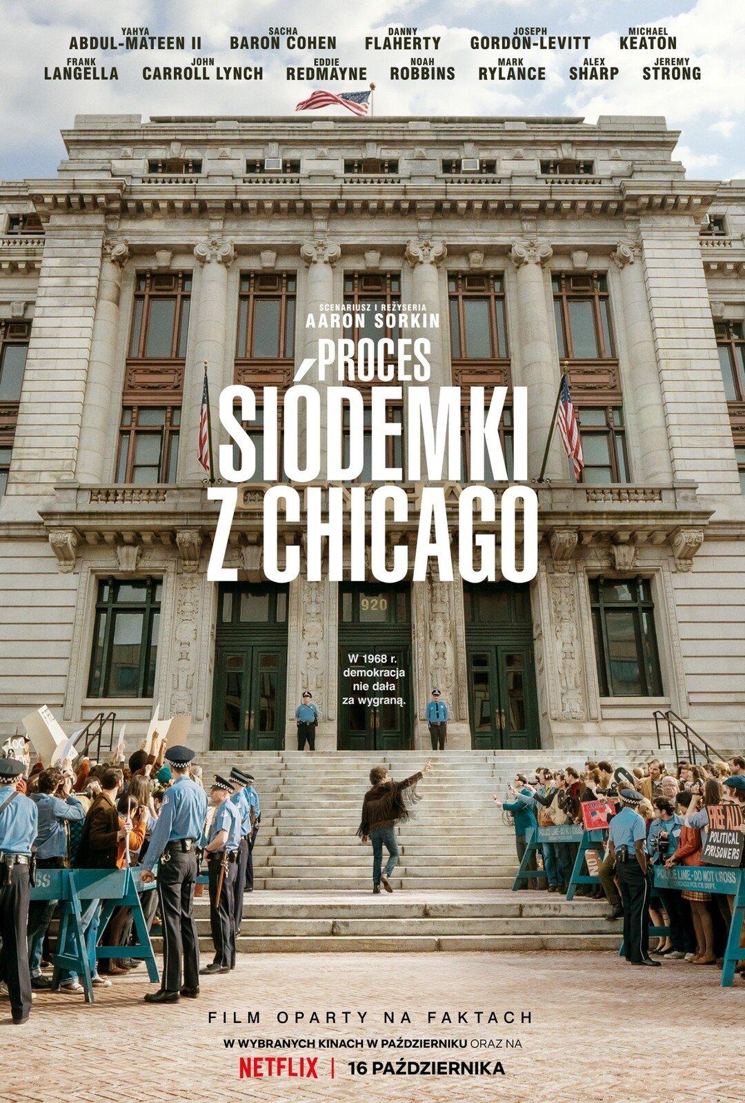 Proces siódemki z Chicago - plakat