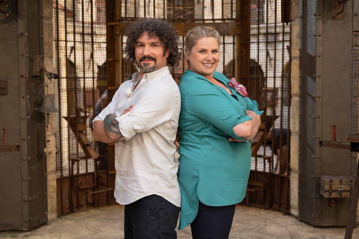 Elzbieta Romanowska, Mariusz Kałamaga _Hosts_Endemol Shine Polska_@fot. Maciej Zawada