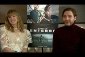 7 Days in Entebbe | Rosamund Pike & Daniel Bruhl Interview | In cinemas 6 April